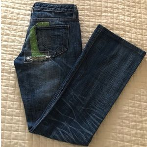 Paper Denim & Cloth soft jeans with patches!!